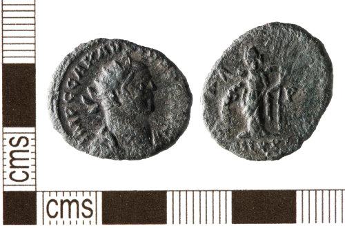 HESH-1F08E3: Roman: Coin