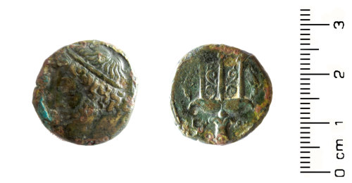 HESH-48C484: Greek and Roman Provincial: Coin