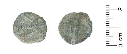 HESH-97952B: Post Medieval: Token