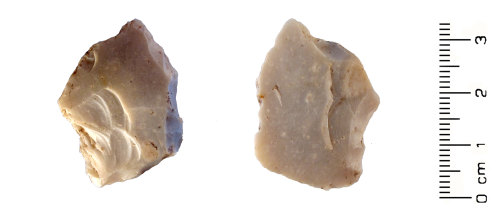 HESH-F99AE3: Neolithic: Thumb Nail Scraper